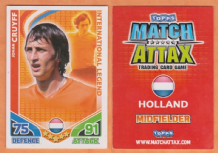 Holland Johan Cruyff Barcelona International Legend